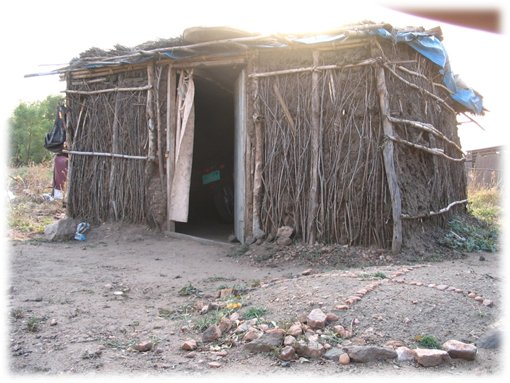 The Edison's hut