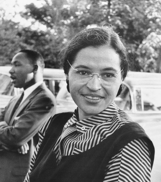 Rosa Parks & Martin Luther King