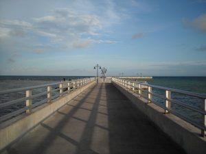 הגשר המגיע מהיבשה לקי ווסט