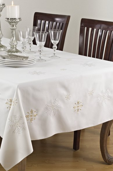 A table with a cloth
