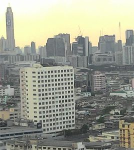 Urban view of Bangkok