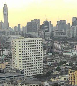 Urban view of Bangkok