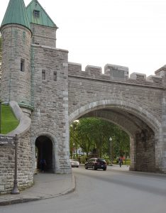 Quebec City walls
