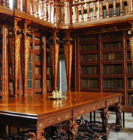 ספריות - Janina-libraria באוניברסיטת קוימברה