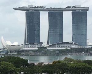 Marina bay Sands Hotel complex in Singapore