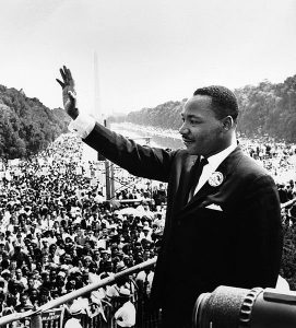Martin Luther King in Washington