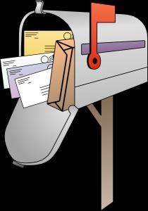 לקרוא מכתב? A flowing mailbox