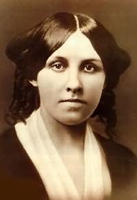 Louisa May Alcott, Little women author