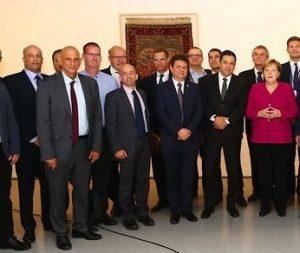 Angela Merkel meeting with high-tech entrepreneurs