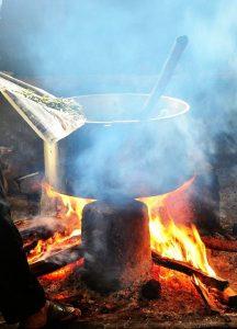 החום שגורם הבישול