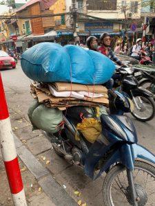 אופנוע משאות בווייטנאם
