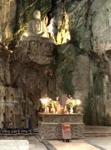 Marble Mountains prayer caves