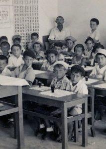 מספר התלמידים בכתה והמורה הבודד