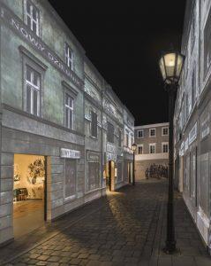 """רחוב יהודי משוחזר במוזיאון """"פה לין"""""""